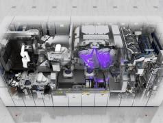 TWINSCAN NXE:3400B unterstützt EUV-Massenproduktion bei 7- und 5-nm-Strukturen. Bild: ASML.