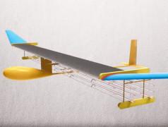 Ionenantrieb des Modellflugzeugs. Bild: MIT