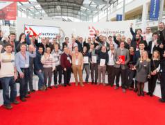 Finale des Fast Forward Award in München bei der electronica 2016