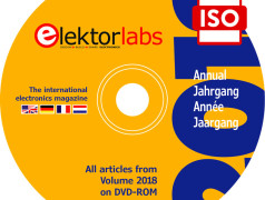 Elektor-Jahrgangs-DVD 2018 exklusiv für Abomitglieder
