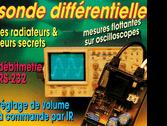 sonde différentielle pour oscilloscope