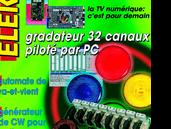 gradateur 32 canaux piloté par PC