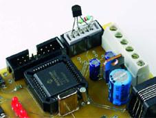 Télé-enregistreur de température pour la carte PIC18F