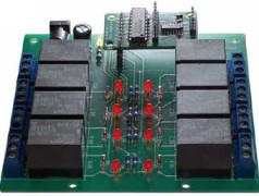 Platine de relais avec duplicateur de port pour ATM18