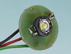 Logique pour Luxeon, gradateur pour lampe de poche à LED