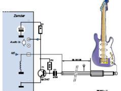 Pilote de LED de puissance PR4101 à gradateur + Emetteur de guitare tout simple