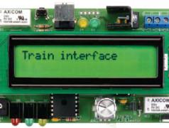 Interface pour train électrique