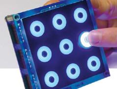 Pattern Lock: clavier tactile à reconnaissance de motif