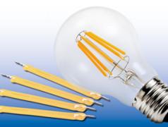 LED en filament fragiles