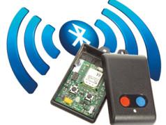 télécommande Bluetooth Low Energy