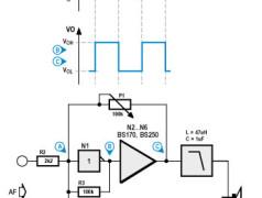 amplificateur BF numérique simple