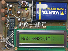 Projet No. 57 : thermomètre à maximum & minimum