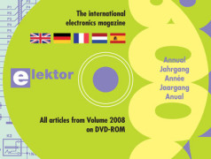 Tout ELEKTOR 2008 sur DVD-ROM