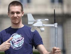 Station météo autonome à données ouvertes et gratuites