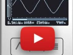 Oscilloscope de poche