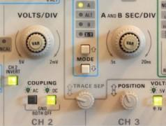 Dotez votre oscilloscope USB de boutons rotatifs et de commutateurs