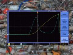 Visualisation de la courbe caractéristique U/I des composants passifs à résistance dynamique négative