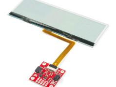 Carte d'extension SparkFun pour afficheur transparent tête haute OLED avec liaison Qwiic