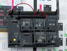 Banc d'essai : kit d'évaluation ROHM SensorShield