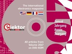 DVD annuel Elektor, millésime 2017 – téléchargement réservé aux abonnés