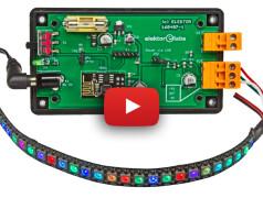 Commandez des LED Neopixel avec un serveur web (ESP8266)