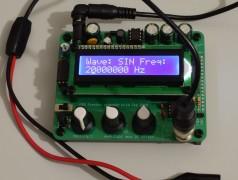 Banc d'essai : Pulsar Labs – générateur de fonctions open source en kit