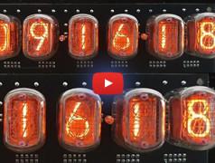 Pilotes russes de K155ID1 avec interface de piratage aux normes KGB