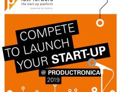 Concours productronica Fast Forward 2019 : placez votre start-up sous les feux de la rampe