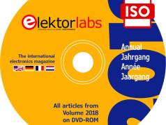 DVD annuel Elektor, millésime 2018 – téléchargement réservé aux abonnés