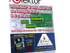 Le nouveau numéro d'Elektor (juillet-août 2019)