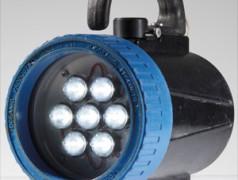 Onderwaterzaklamp met Luxeon-LED's