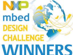 NXP mbed ontwerpwedstrijd: De winnaars