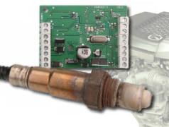 Interface voor breedband-lambdasonde