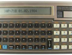 Hewlett Packard 71B rekenwonder (1984)