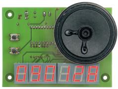 Digitale klok met geluid