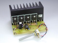DC high-current motor-driver