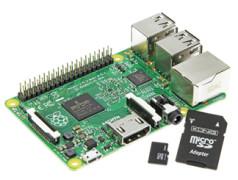 SD-kaart-upgrade voor RPi model 2