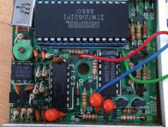 De ICM7216 van Intersil