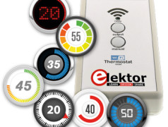 Timers voor de WiFi desktop-thermostaat