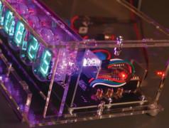 VFD-klok met ESP32