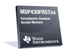 Ultra-low-power microcontroller met FRAM