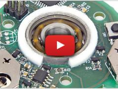 Lichtgevende spinner: mechanica en elektronica gaan hand-in-hand