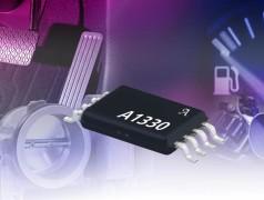 A1330: Programmable Angle Sensor IC with Analog and PWM Output. Bron: Allegro MicroSystems.