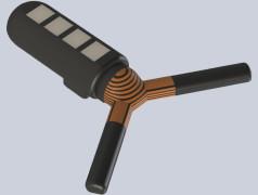 MIT-onderzoekers hebben een inslikbare sensor ontworpen die een paar weken in de maag kan blijven zitten en draadloos kan communiceren met een extern apparaat. Bron: MIT