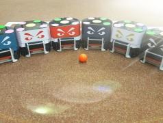 Het robotteam staat te popelen (foto: TU Twente).