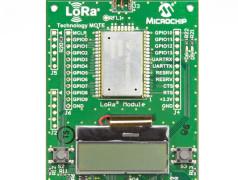 Batterijgevoed LoRa-evaluatieboard.