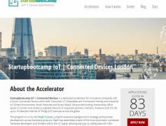 Internet of Things Accelerator-programma voor startups