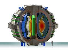 ARC-model van een compacte kernfusiereactor. Afbeelding: MIT / Alexander Creely