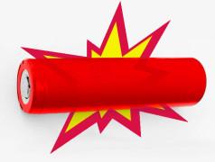 Rood fosfor voorkomt ontploffing van lithium-accu's