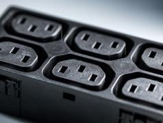 Serie 4751: IEC Panel Mount Socket Blocks Type F